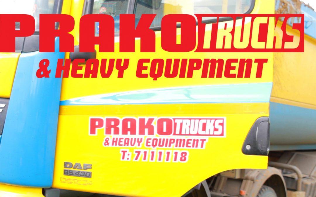 Prako Trucks and Heavy Equipement