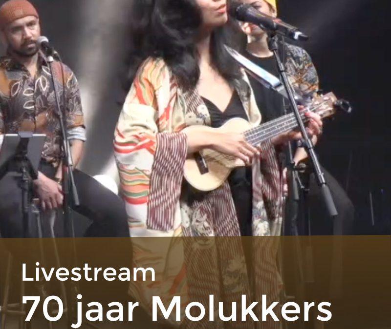 Livestream 70 jaar Molukkers in Nederland