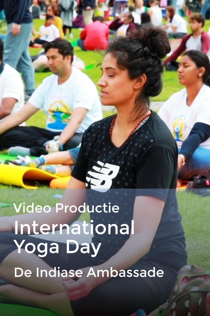 Internationale Yoga Dag