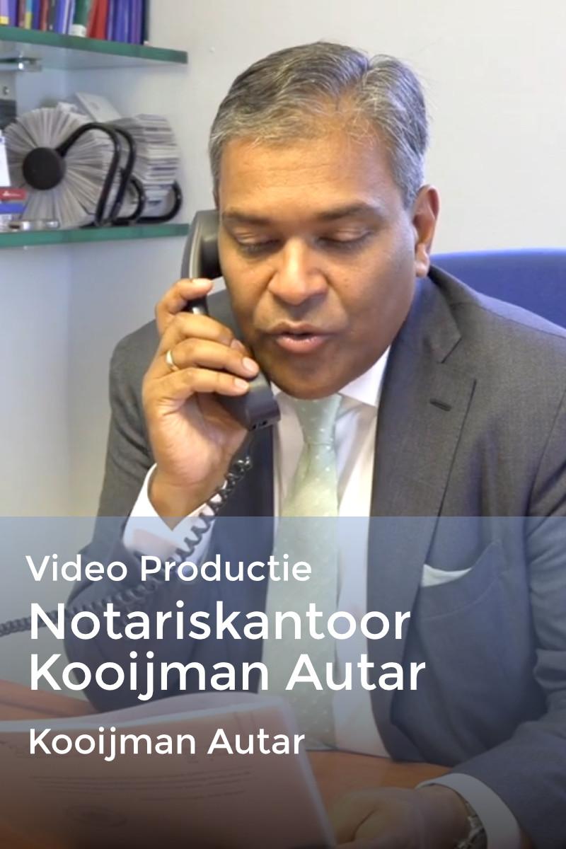 Bedrijfsfilm Notariskantoor Kooijman Autar